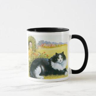 Cat in His Garden Gift Mug