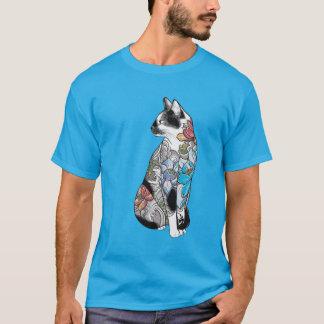 cat in locus tatto T-Shirt