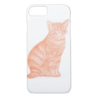 Cat in Sepia iPhone 8/7 Case