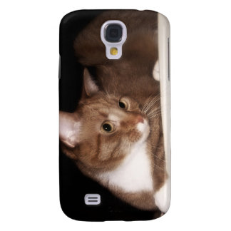 Cat in Soft Light Galaxy S4 Cases