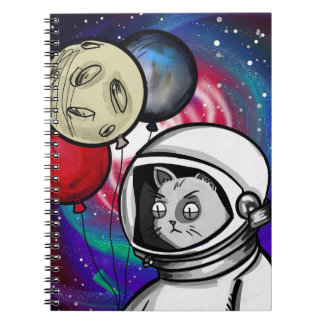 Cat in Space Note Book