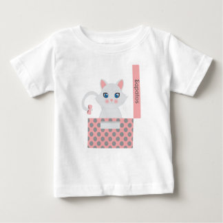 Cat in the box baby T-Shirt