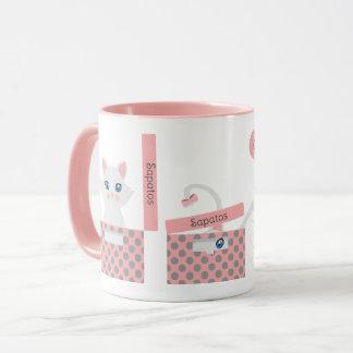 Cat in the box mug