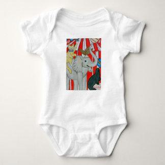 Cat in the circus baby onsie baby bodysuit