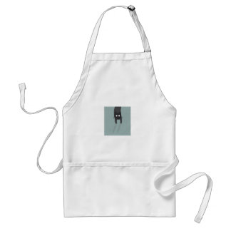 Cat in the pocket standard apron