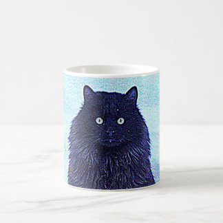 CAT IN THE SNOW COFFEE MUG