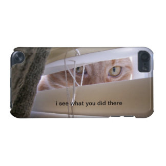Cat in the Window - I see what you did there. iPod Touch (5th Generation) Case