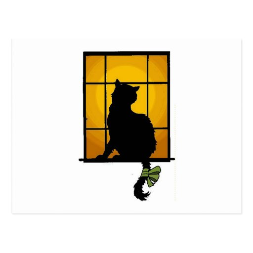 Cat in the Window Post Cards