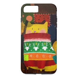 """Cat in Ugly Sweater"" iPhone 7 Plus Case"