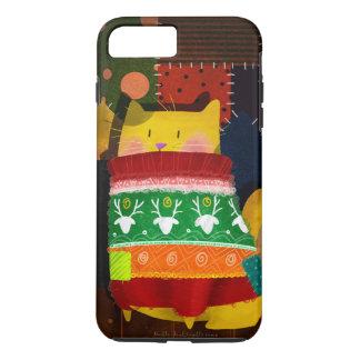 """Cat in Ugly Sweater"" iPhone 8 Plus/7 Plus Case"