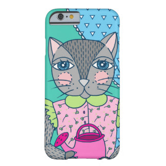 Cat in Window iPhone 6/6s Case