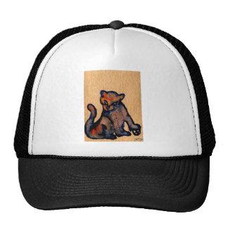 Cat-itude Cat Art Catness Attitude of Cats Mesh Hat
