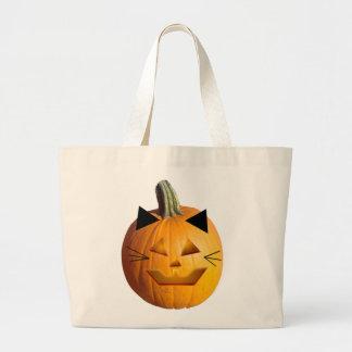Cat Jack O Lantern Bag