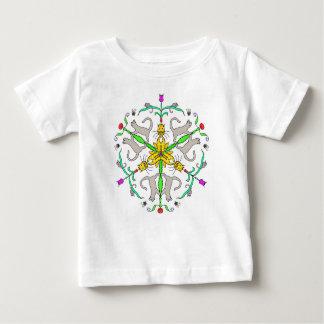 Cat kaliedoscope baby T-Shirt
