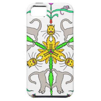 Cat kaliedoscope tough iPhone 5 case