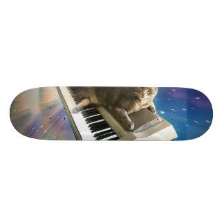 cat keyboard 20 cm skateboard deck