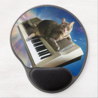 cat keyboard gel mouse pad