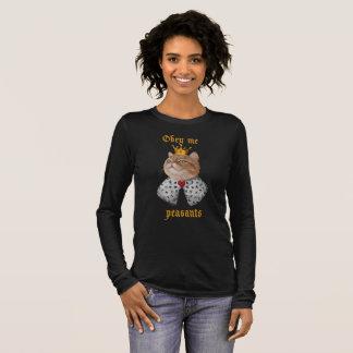 Cat King Long Sleeve T-Shirt