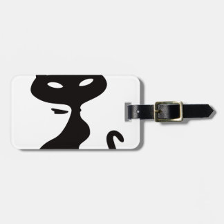 Cat King Luggage Tag