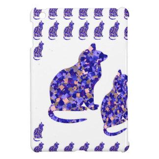 Cat Kittens KIDS Love Template Greetings Gifts FUN iPad Mini Cover