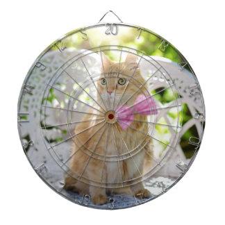 Cat Kitty Feline Summer Sunshine Pet Animal Cute Dartboard