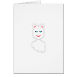 Cat Knaomi Glad Greeting Card