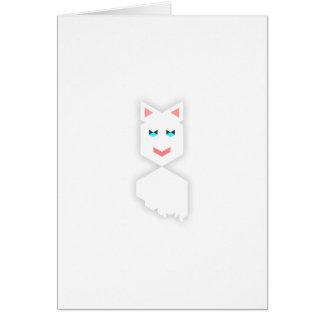Cat Knaomi Glad Greeting Card