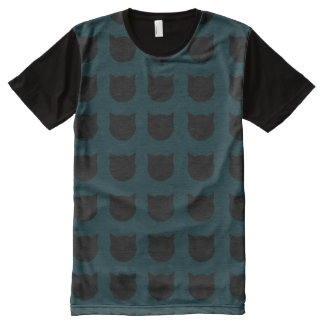 Cat Lady All-Over Print T-Shirt