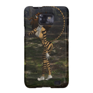 Cat Lady Samsung Galaxy SII Covers
