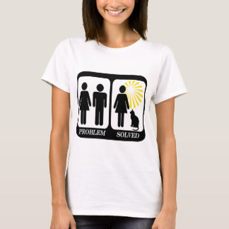 Cat Lady Problem solved T-Shirt