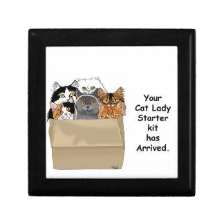 Cat Lady Starter Kit Gift Box