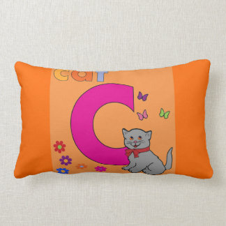 Cat Letter C Cushions