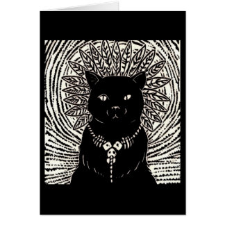 Cat Lord Card