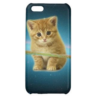 Cat lost in space iPhone 5C cases