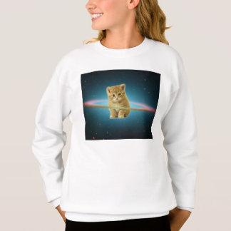 Cat lost in space sweatshirt