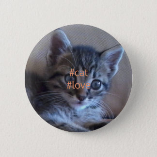 Cat love badge