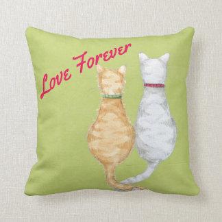 Cat love Pillow