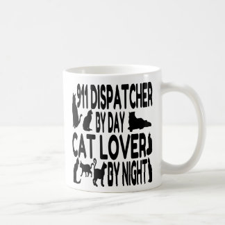 Cat Lover 911 Dispatcher Coffee Mug