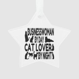 Cat Lover Businesswoman