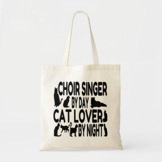 Cat Lover Choir Singer Budget Tote Bag