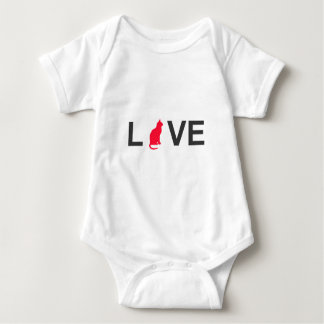 Cat lover clothing baby bodysuit