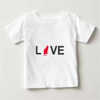 Cat lover clothing baby T-Shirt