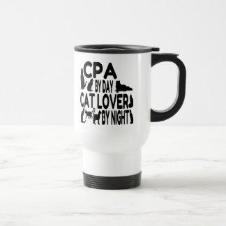 Cat Lover CPA Travel Mug