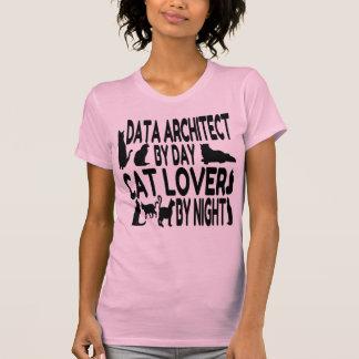Cat Lover Data Architect T-Shirt