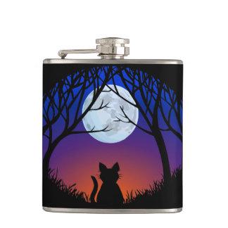 Cat Lover Flask Custom Fat Cat Drink Flasks & Gift