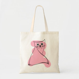 Cat lover gifts, cat themed gifts, cat tote bag
