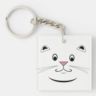 Cat Lover Gifts Key Ring