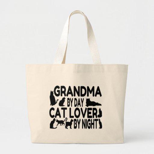 Cat Lover Grandma Tote Bag