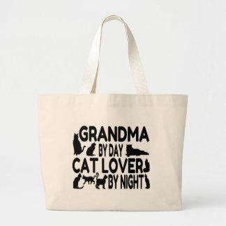Cat Lover Grandma Jumbo Tote Bag