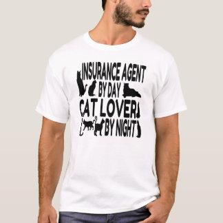 Cat Lover Insurance Agent T-Shirt